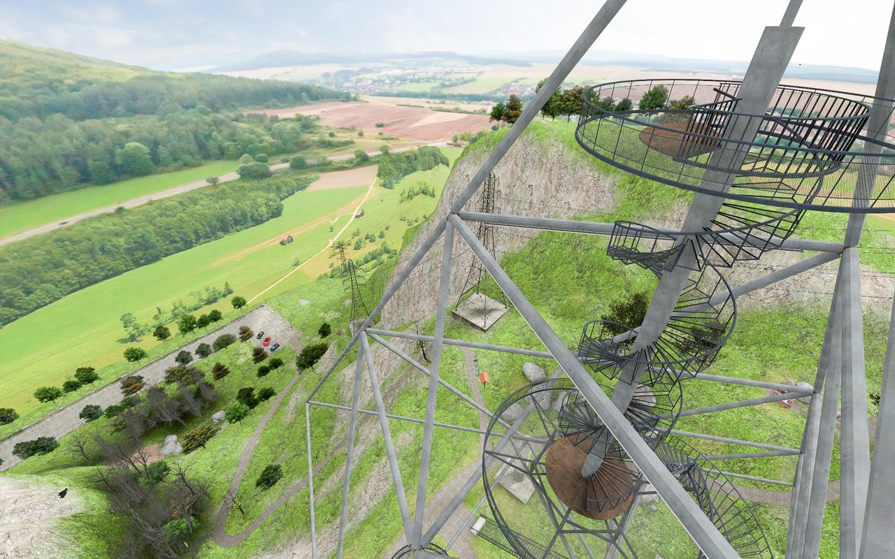 virtueller Aussichtspunkt zur Therapie von Höhenangst